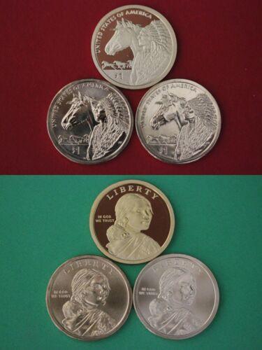 2012 P D S Sacagawea Native American Dollars Flat Rate Shipping