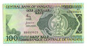 Vanuatu-100-vatu-1982-serie-BB-FDS-UNC-Pick-1-a-Lotto-3463