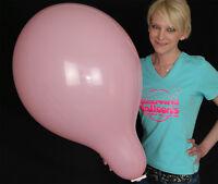 """5 x 17"""" Tuftex Riesen-Luftballons *gemischte Pastellfarben*mixed pastell colors*"""
