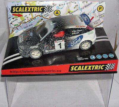 """Genteel Scalextric 6062 Ford Focus Wrc """"effekt Schnee"""" Iridium-ben Sulayem-morgan Mb Elektrisches Spielzeug"""