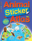 Animal Sticker Atlas by Anthony  Lewis (Paperback, 2009)