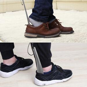 1-Unid-Pratical-Calzador-Acero-inoxidable-Zapato-Cuchara-Levantador-Herramien-QA