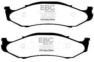 DP1312 EBC Ultimax FRONT Brake Pads fit JEEP Grand Cherokee