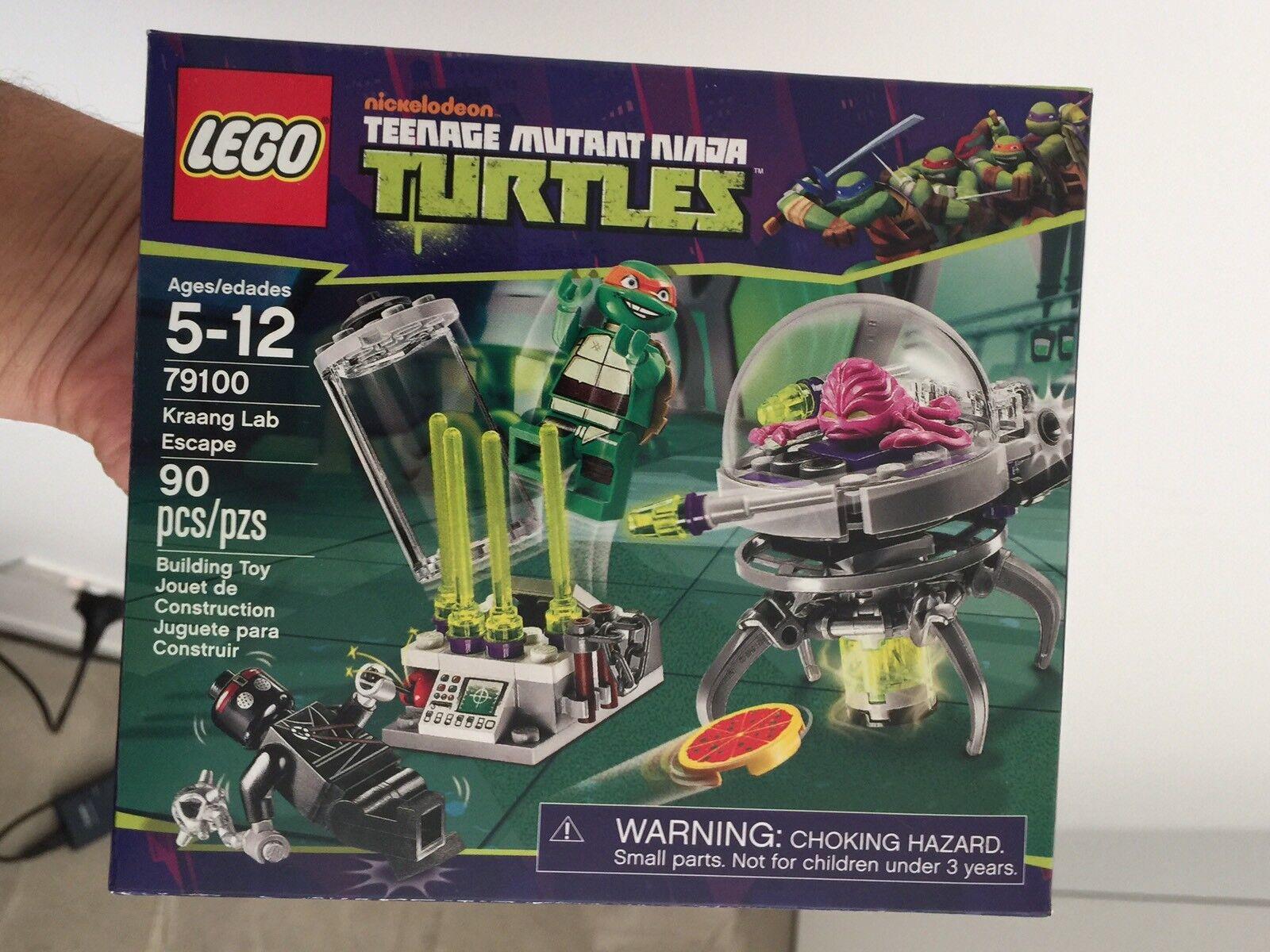 Lego Teenage Mutant Ninja Turtles Tmnt 79100 Kraang Lab Escape