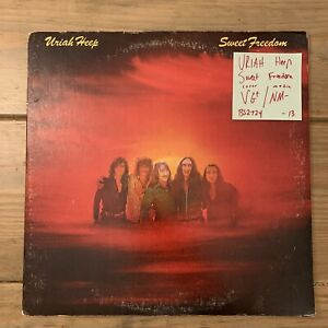 Uriah Heep Sweet Freedom Lp Vinyl Record Vg Nm Bs2724 Ebay