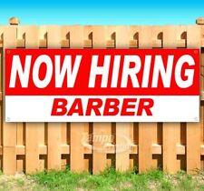 Now Hiring Barber Advertising Vinyl Banner Flag Sign Many Sizes Usa