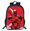 New Print Comics Superheros Deadpool Child Backpack School Bags Boy Backpack