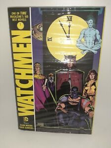 DC-Watchmen-Hardcover-New-Sealed-9-8-FREE-SHIPPING