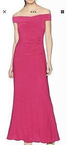 Adrianna-Papell-Sexy-Off-Shoulder-Long-Gown-Dress-Size-8