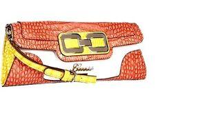 Guess-Mikelle-Cell-Phone-Mini-Clutch-Purse-Bag-Wristlet-Multi-Color