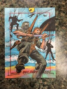 Marlo-Lodrigueza-After-Dick-Ayers-Sgt-Fury-Sketch-Card-MARVEL