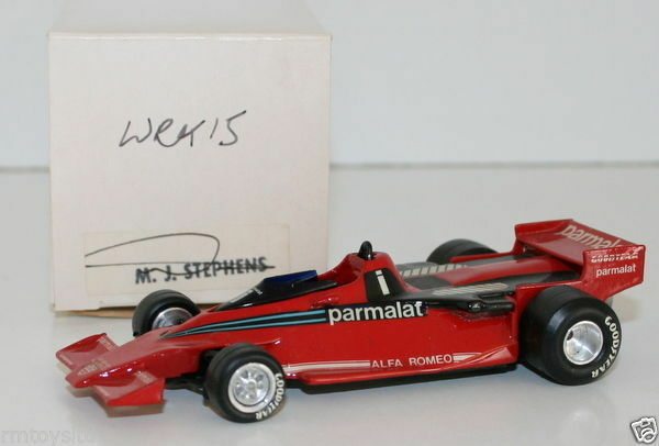 WESTERN MODELS SIGNED 1st VERSION - 1 43 SCALE - WRK15 1978 BRABHAM BT46B
