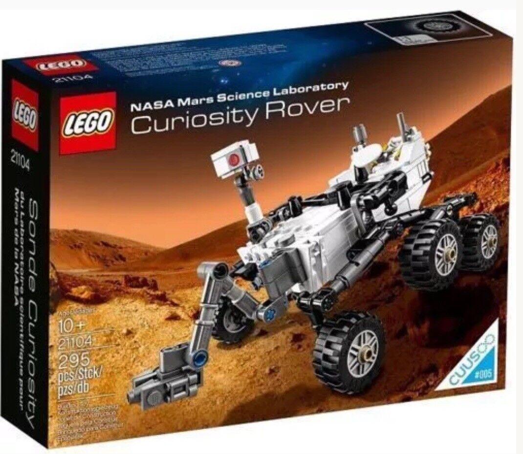 LEGO Ideas 21104 NASA Mars Mars Mars Science Laboratory Curiosity Rover New Sealed Retired 4b1fa7