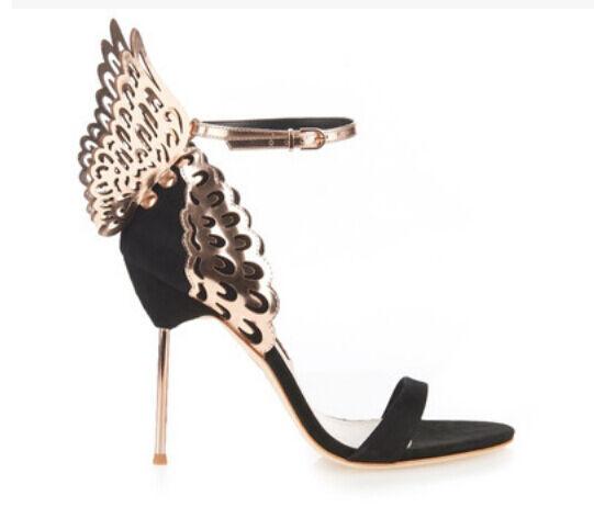 Bowknot Bowknot Bowknot Sandal Open Toe donna High Heel Stiletto Buckle Leather Pumps scarpe US9 c419d7
