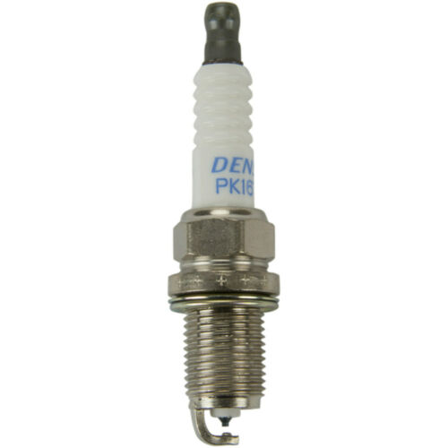 4 PACK Platinum TT With Titanium Enhanced Ground Strap Denso Spark Plugs