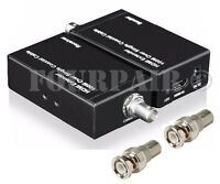 Hdmi Repeater Balun Extender Over 1 Single Rg6 Coax Cable Bnc 1080p 100m (328ft)