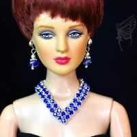 """handmade Tonner Tyler 16"""" doll jewelry necklace earring for Tonner and BJD"""