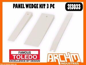TOLEDO-313033-PANEL-WEDGE-KIT-3-PC-REMOVAL-DOOR-PANELS-TIMBER-TRIM-PLASTIC