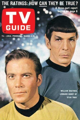 1960s STAR TREK TV Guide cover replica magnet new!