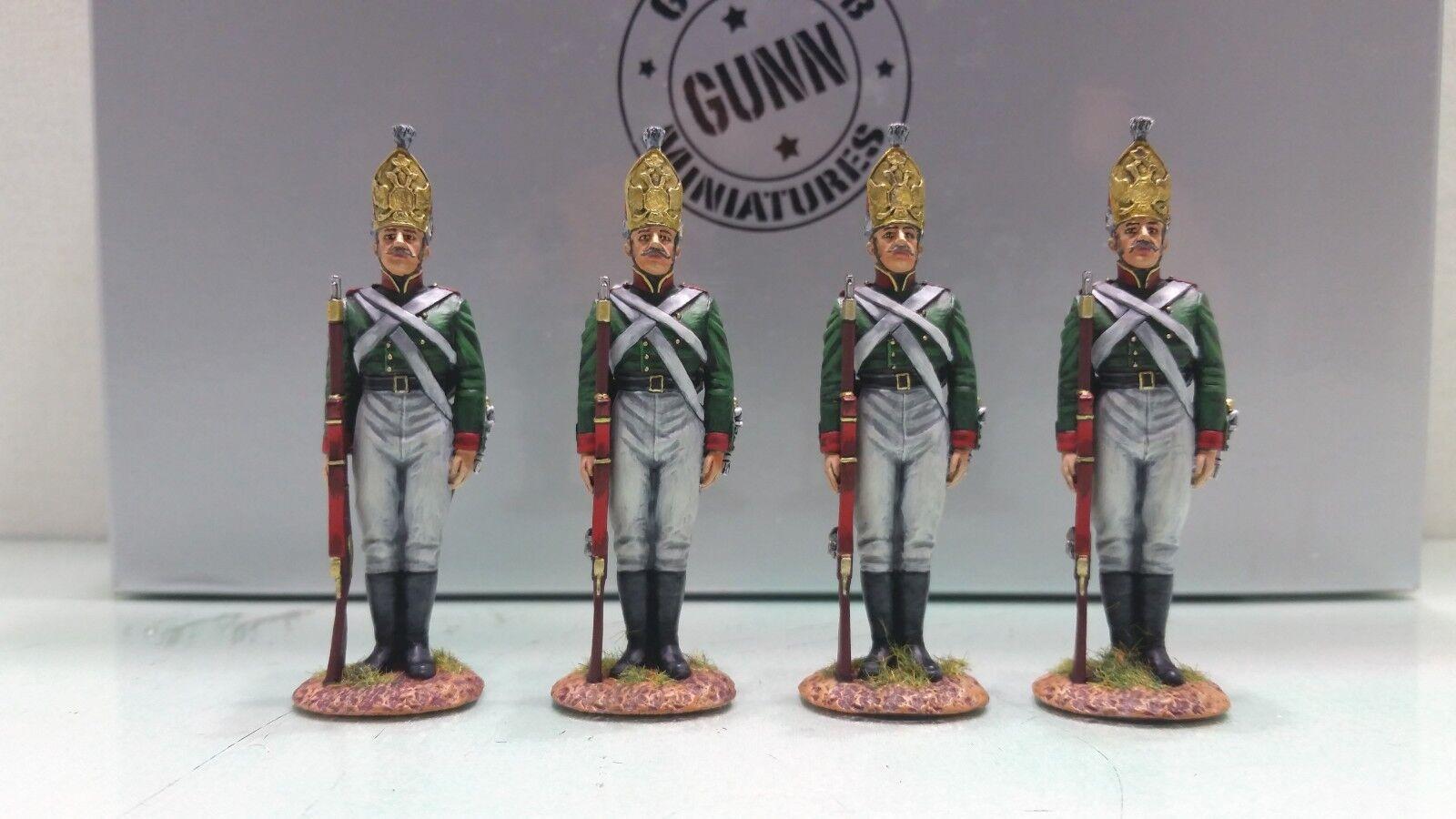 Thomas Gunn Napoleonisch Russisch NAP024A 4 Pavlovski Grenadiere Set MIB