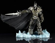 WOW World of Warcraft Arthas Menethil The Lich King Deluxe Boxed Figure