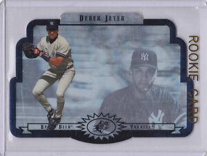 Details About Derek Jeter Upper Deck Spx Rookie Card New York Yankees Baseball Mlb Rc