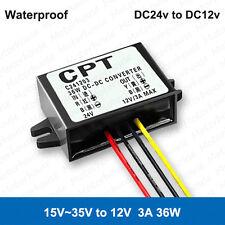 DC-DC Buck Step Down Converter Regulator Power Supply Module 24V to 12V 3A 36W