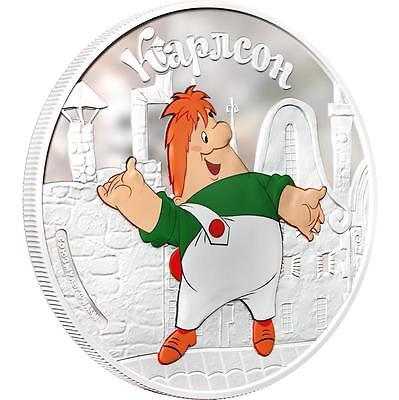 Cook 2011 $5 Soyuzmultfilm Malish and Karlsson Karlsson 1 Oz Silver Proof Coin