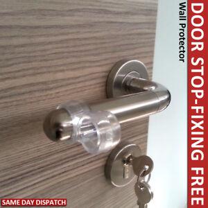 wall protectors door stop door handle bumper guard door. Black Bedroom Furniture Sets. Home Design Ideas
