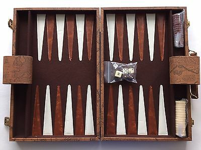 Sports collection on ebay backgammon set faux leather old world map case 145 x 95 portable travel new publicscrutiny Images