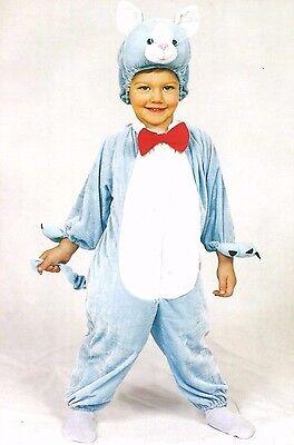 Costume Vestito Carnevale Cucciolo Gatto Peluche 2 3 Anni Le Merci Di Ogni Descrizione Sono Disponibili