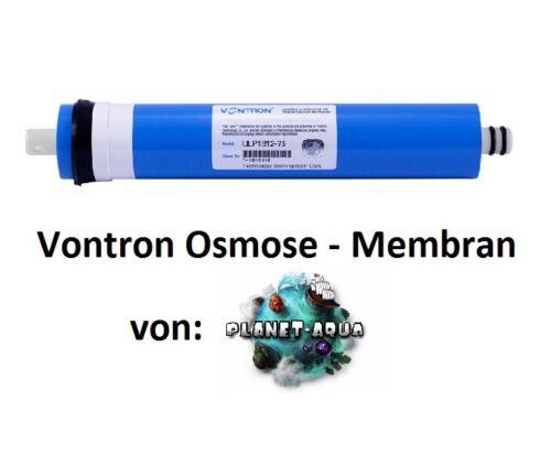 Filter Set Sediment Aktivkohle Membran 75GPD Wasserfilter Umkehr Osmose Anlage