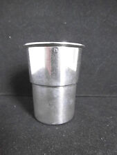Timbale ancienne argent massif poinçon Minerve Gobelet / French silver sterling