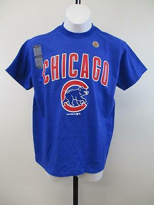 Weitere Ballsportarten FäHig New-minor-flaw Chicago Cubs Jugendgrößen S-m-xl Blau Majestic Shirt