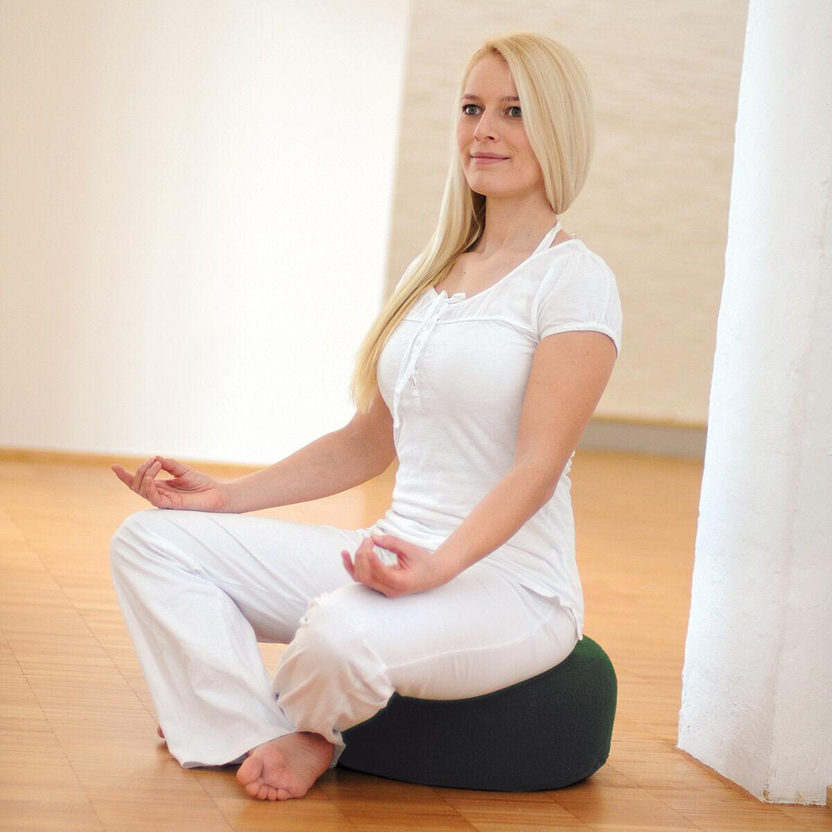 Cuscino Yoga Relax seduta meditazione o rilassamento  Comodo e pratico sedile