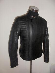 HEIN-GERICKE-vintage-Motorradjacke-Lederjacke-bikerjacke-oldschool-jacket-52-M
