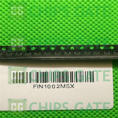 5PCS FIN1002M5X RECEIVER 3.3V LVDS SOT23-5 1002 FIN1002