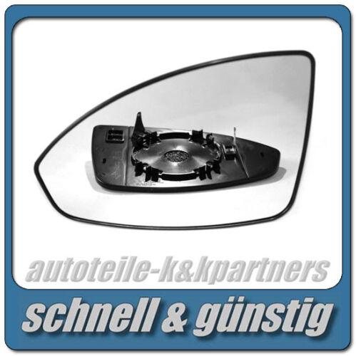 links sphärisch beheizbar außenspiegel spiegelglas für CHEVROLET CRUZE 2009