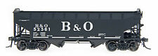 BALTIMORE & OHIO  AAR ALTERNATE 2-BAY OPEN TOP HOPPER BY INTERMOUNTAIN RAILWAY