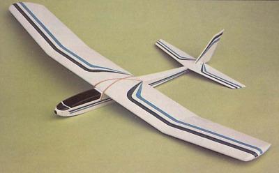 RC AIrplane Printed Plans /& Templates PIERCE ARROW   Sailplane Glider
