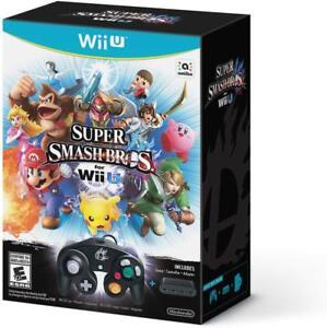 Super-Smash-Bros-Bundle-WIi-U-Wii-U-Not-Included-Brand-new-Factory-Sealed