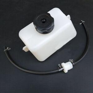 Gas Petrol Fuel Tank Plastic Oil Filter Hose Fit For 2-Stroke 43cc 47cc 49cc