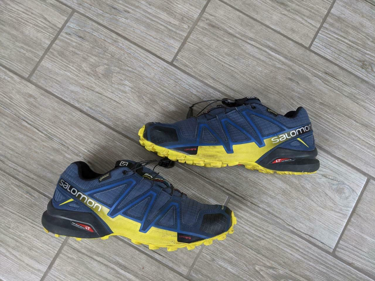 mens SALOMON shoes SPEED CROSS 4 goretex 8.5 US 42 EU running
