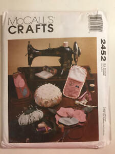 Vintage-1999-McCalls-Pattern-2452-Craft-Sewing-Accessories-New-Uncut-Pattern