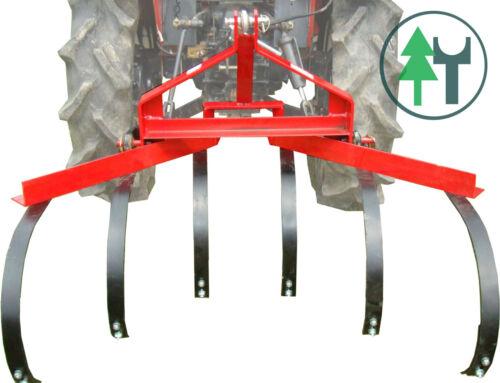 Grubber Kultivator 120 cm 6 Zinken für Traktoren Kleintraktoren KAT1 Heckanbau