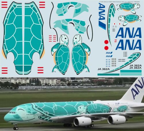 1//144 Airbus A380 ANA Airlines KAI JA382A  Delivery Decals TB Decal TBD392