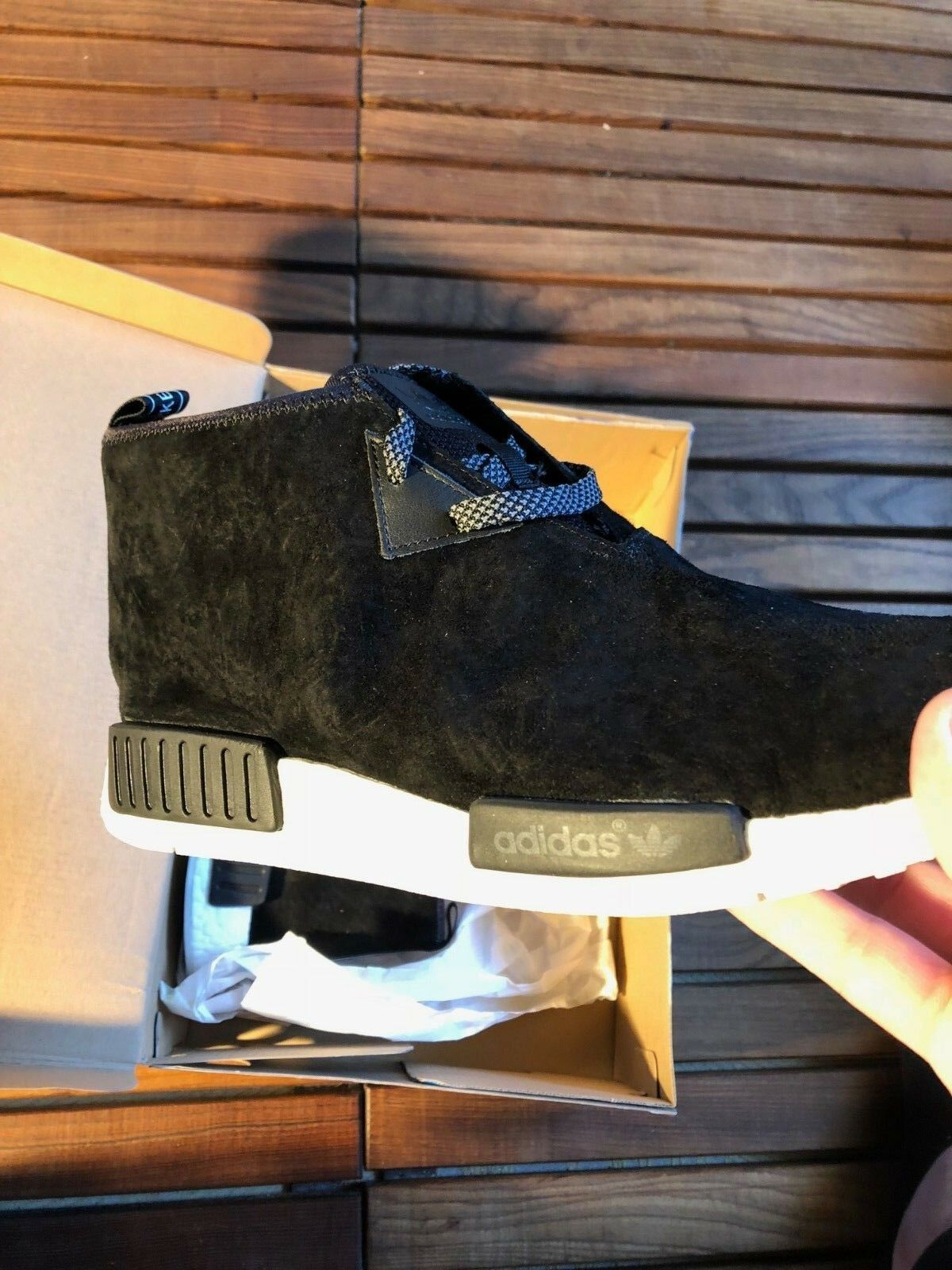 Adidas NMD Chukka Black Sneakers Size 46