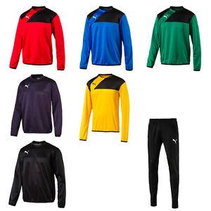 Puma-Esquadra-Herren-Kinder-Training-Sweat-div-Farben-oder-Fitness-Pant-schwarz