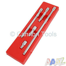 "5pc 1/2"" inch Drive Socket Wobble Long Bar Extension Set Garage Workshop Tool"
