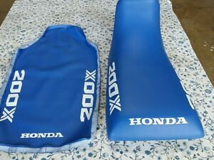 HONDA-n6-ATC200X-ATC-200X-1985-MODEL-Seat-Cover-BLUE-H11
